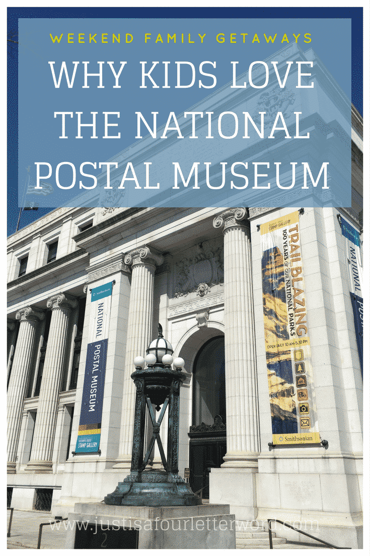 Washington DC is well known for museums that are family-friendly. One of our favorites is The National Postal Museum for its awesome interactive exhibits kids can actually touch! Check it out on your next DC vacation.