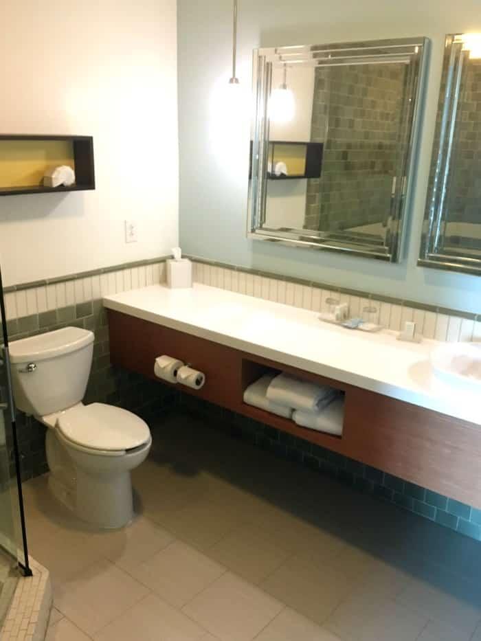 Hotel Indigo Bathroom Counter