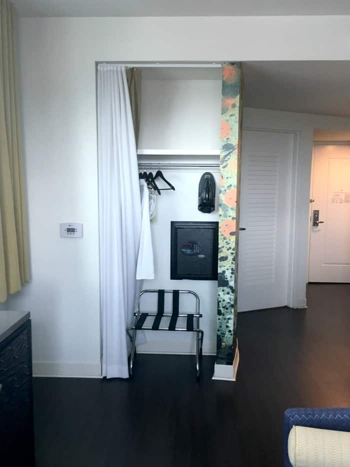 Hotel Indigo Closet Safe Iron