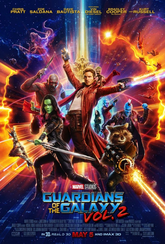 Guardians of the Galaxy Vol. 2 is the perfect date night movie and the funniest film of 2017 so far! See why we loved it and why we aren't letting the kids watch just yet.