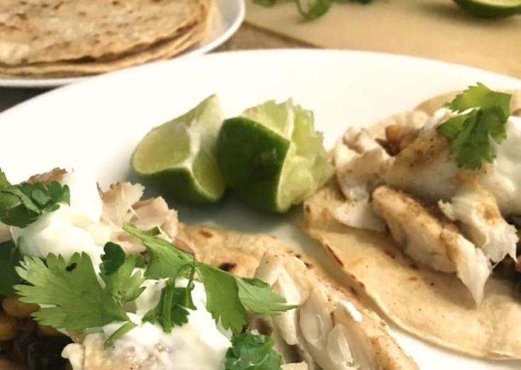 Cajun Cod Fish Tacos?