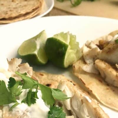 Did Someone Say Cajun Cod Fish Tacos?