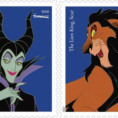 Disney Villains Stamps Featured
