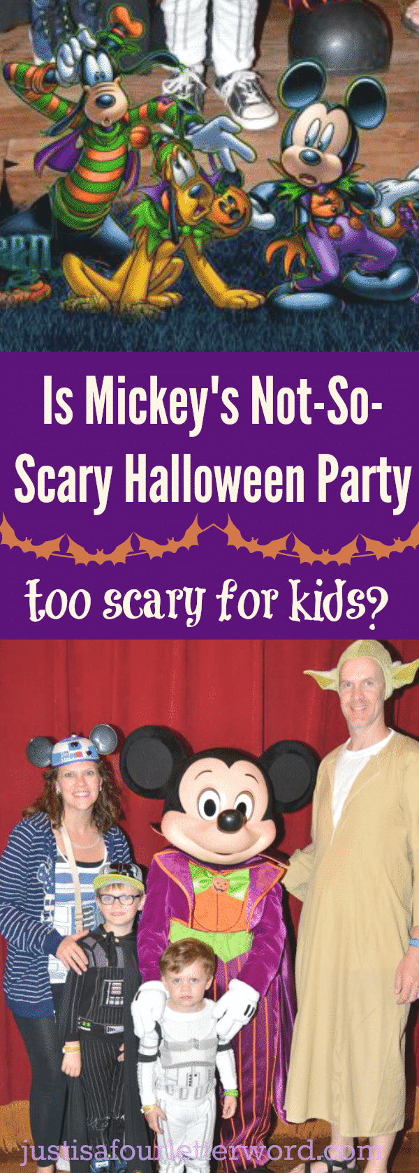Is Mickey's Not so Scary Halloween Party too scary for kids? We don't think so. But check out these tips to be sure you and your kiddos are ready!