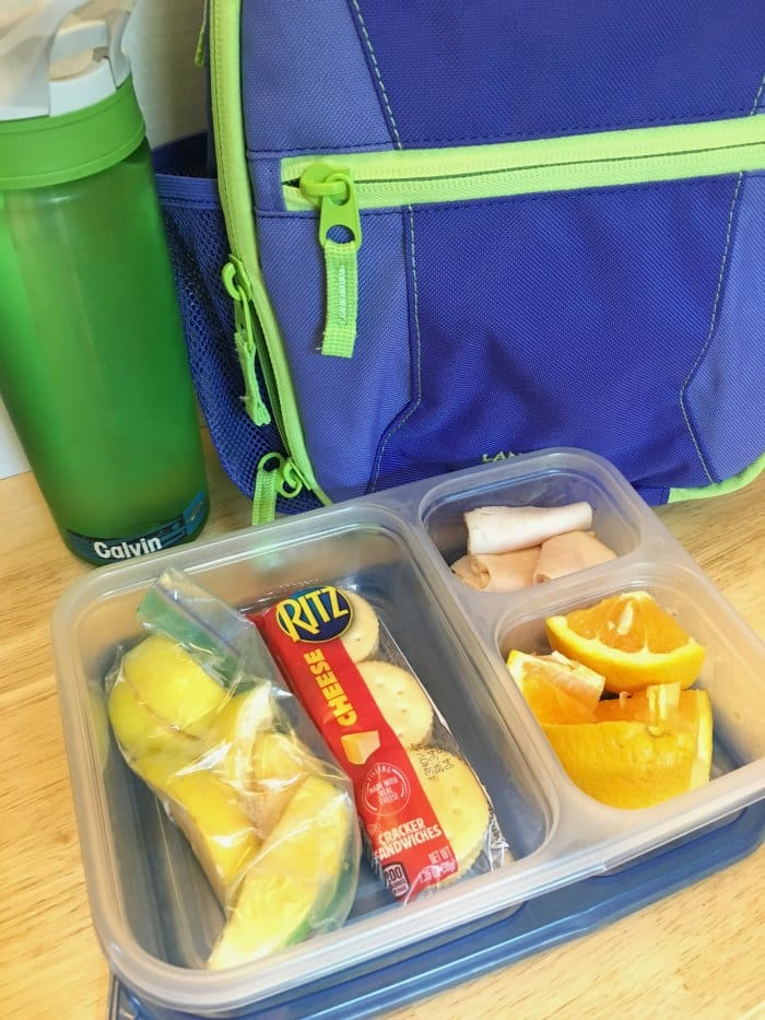 School Lunch ideas to help kids make their own lunches