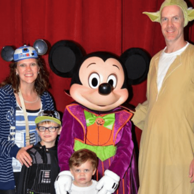 Is Mickey's Not-So-Scary Halloween Party too scary for kids?