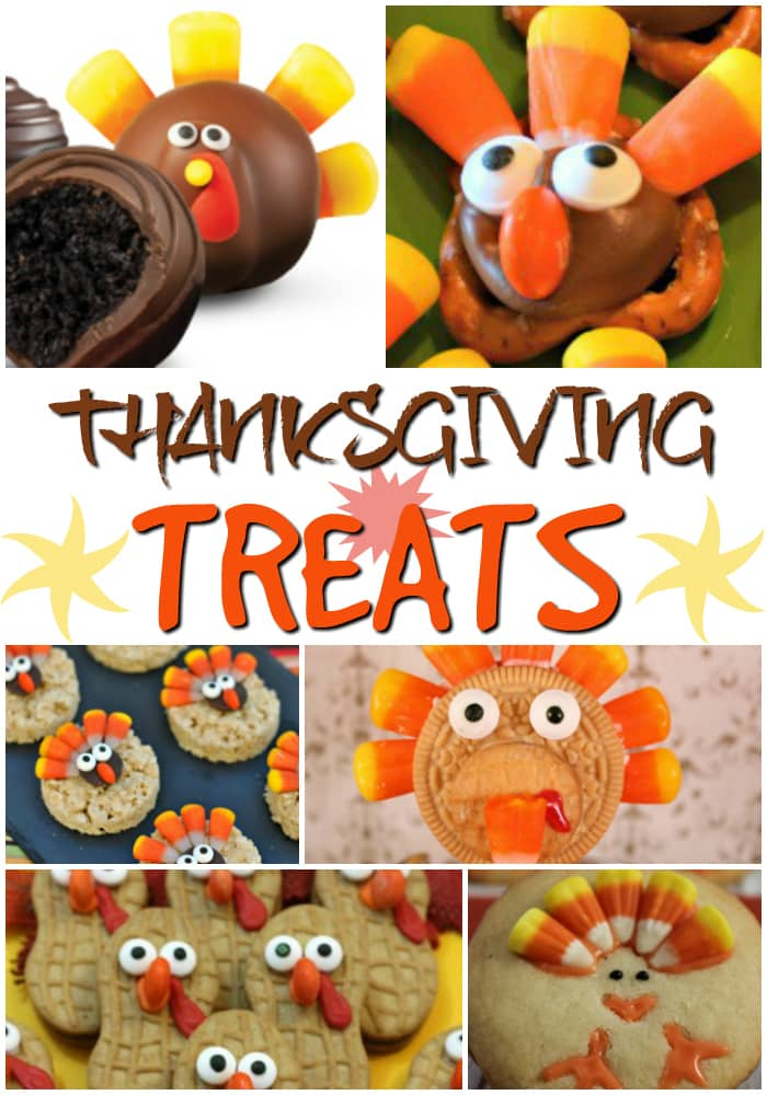 Make these fun Thanksgiving treats with your kids or for a class party. Fun to make and a delicious way to enjoy fall! Get the recipes for these DIY fall treats.