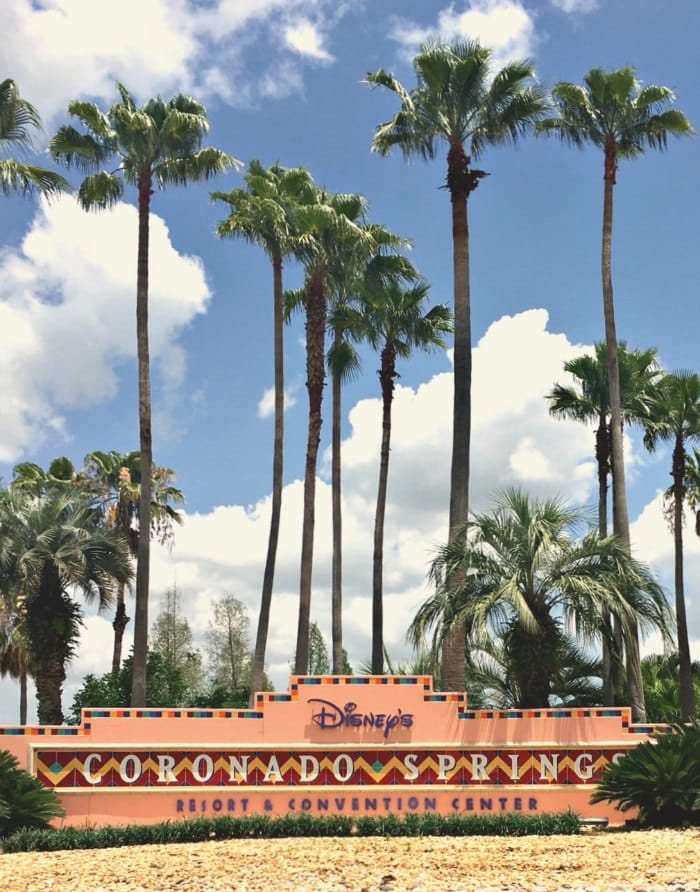 Coronado Springs Resort Sign