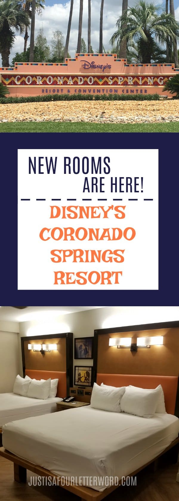 Coronado Springs Room renovations are here and they are beautiful! Take a tour of the new rooms and compare with the older version and plan a stay and this fantastic Disney Resort!
