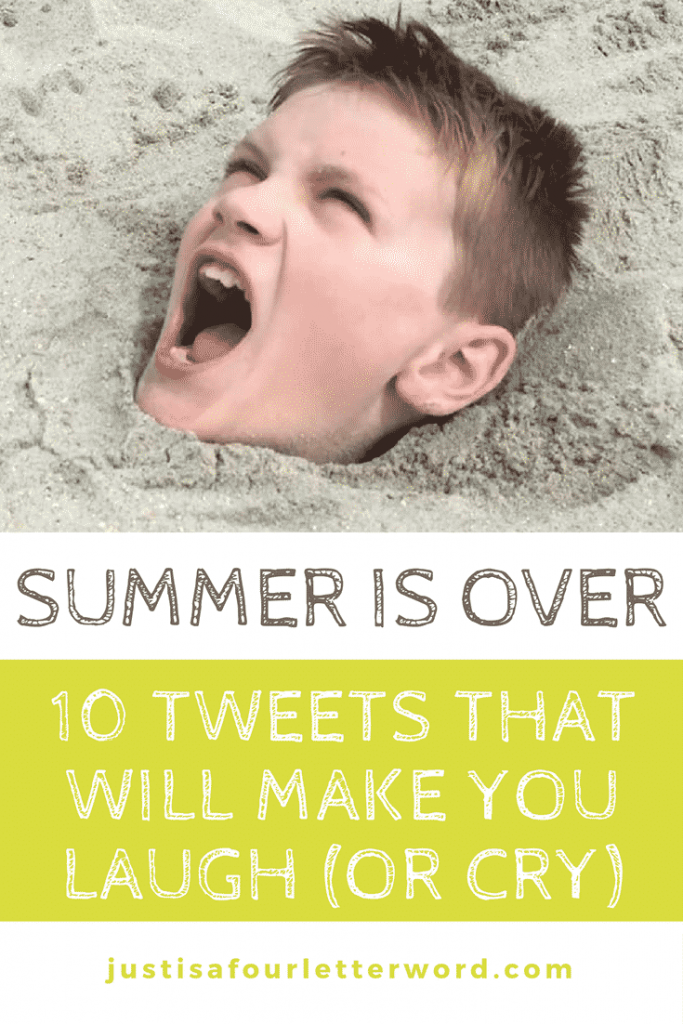 Summer is over. Noooo! Here are 10 Tweets that will make you laugh (or cry) as you say goodbye to summer.