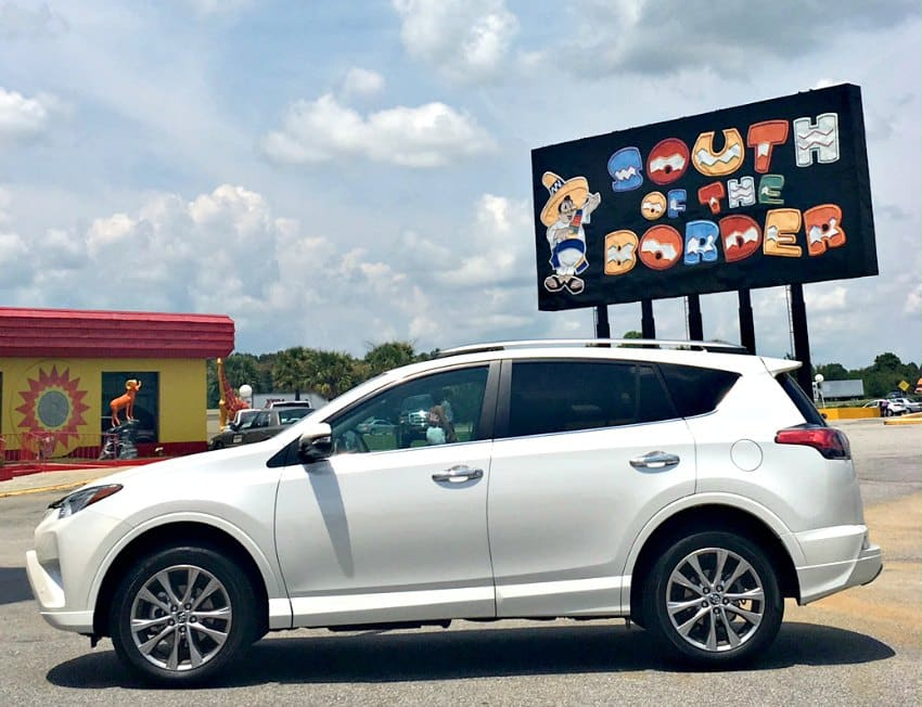 RAV4 South of the Border