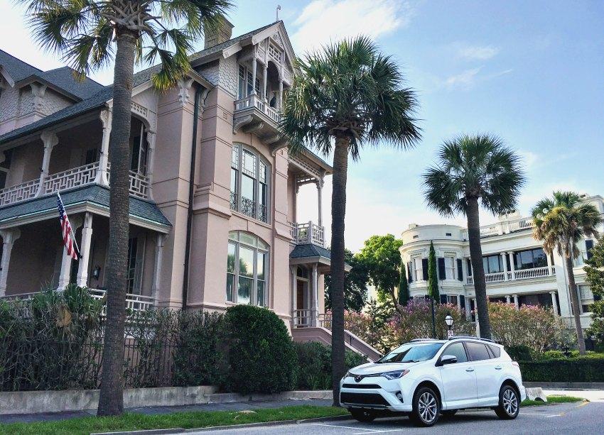 Toyota Rav4 Charleston Street