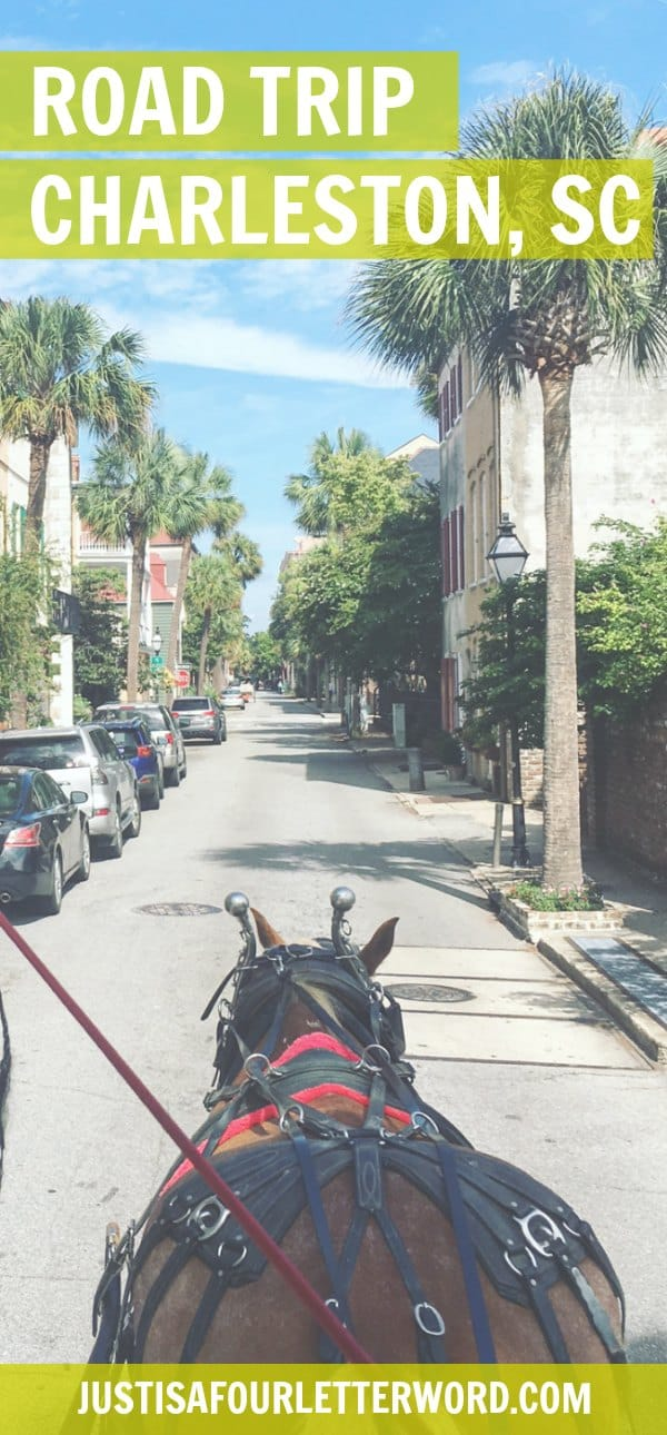 Take your next weekend road trip Charleston style! See how we traveled with the Toyota RAV4 on a fun girls weekend getaway to one of the best cities in the south!