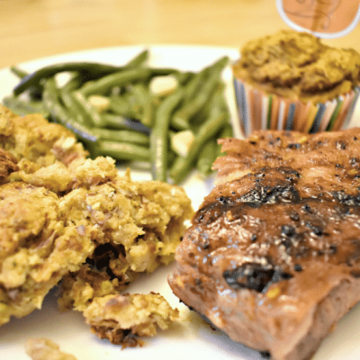 Taste the Best of Summer and Fall with Grilled Ribs Thanksgiving Style!
