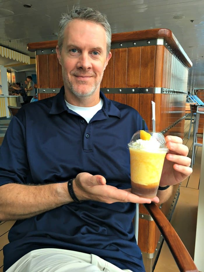 Dole Whip with Rum Disney Cruise