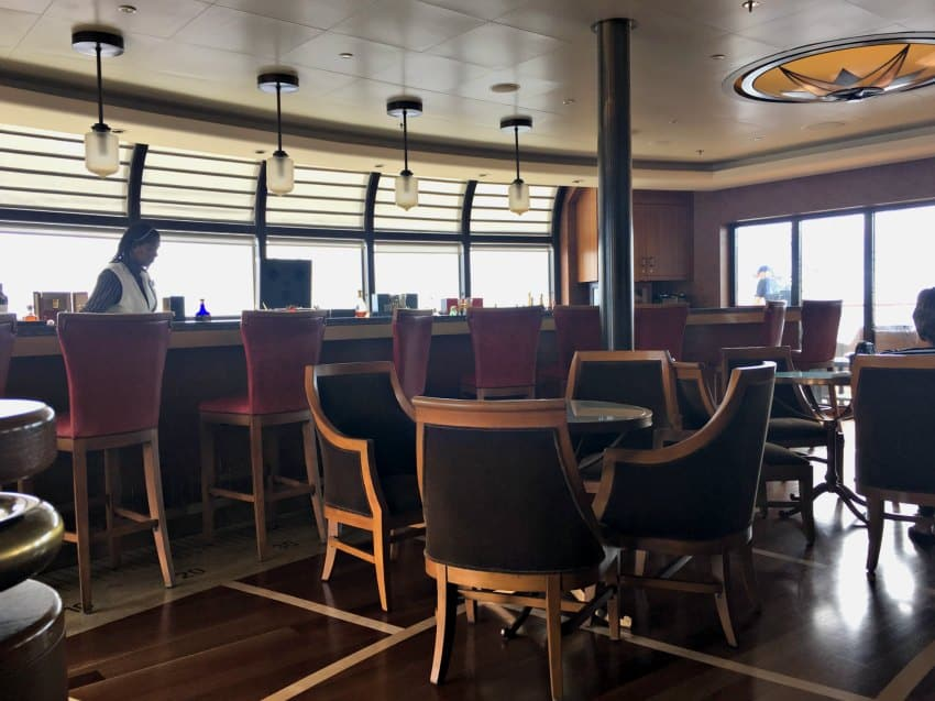Waiting Lounge at Palo Disney Dream