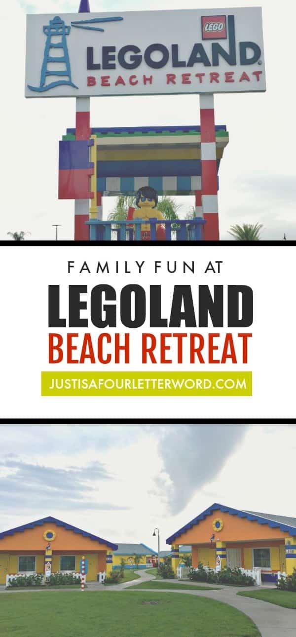 Family fun at Legoland Beach Retreat, a great option for lego loving families visiting Legoland Florida