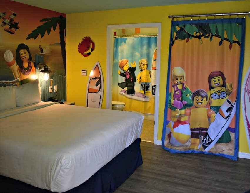 LEGOLAND Beach Retreat Bedroom