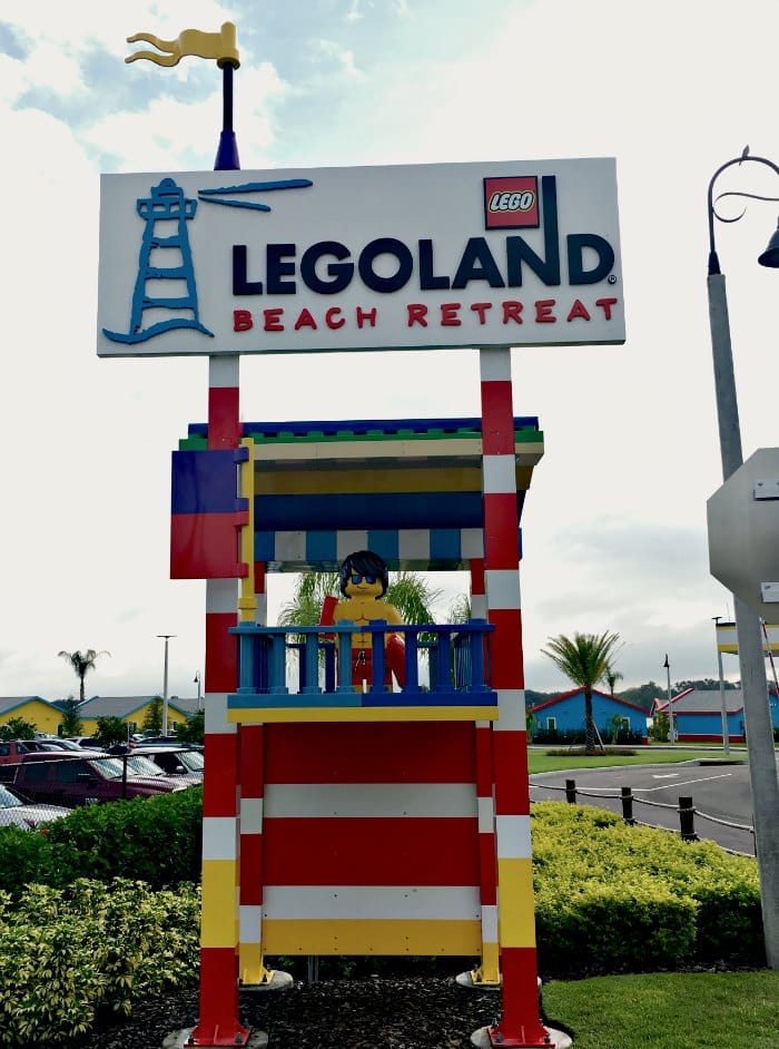LEGOLAND Beach Retreat Entrance