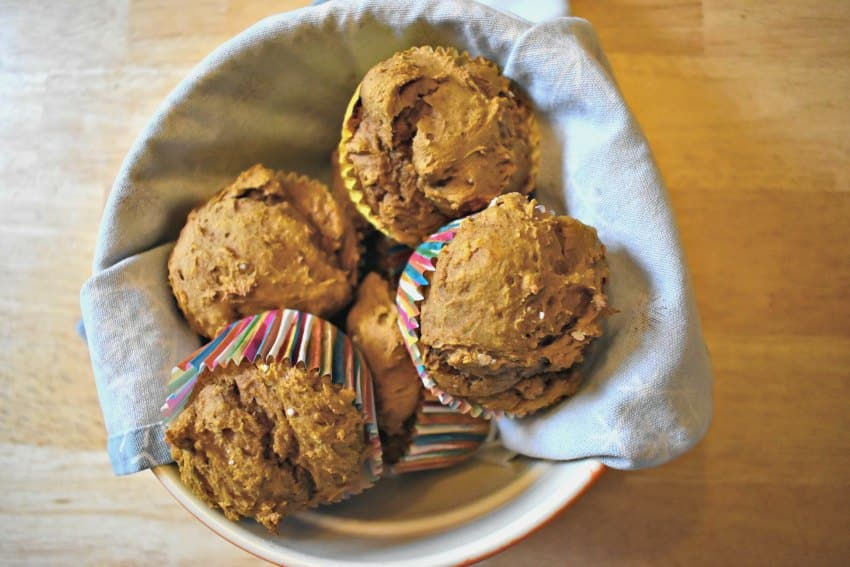 Pumpkin Spice Muffins Done