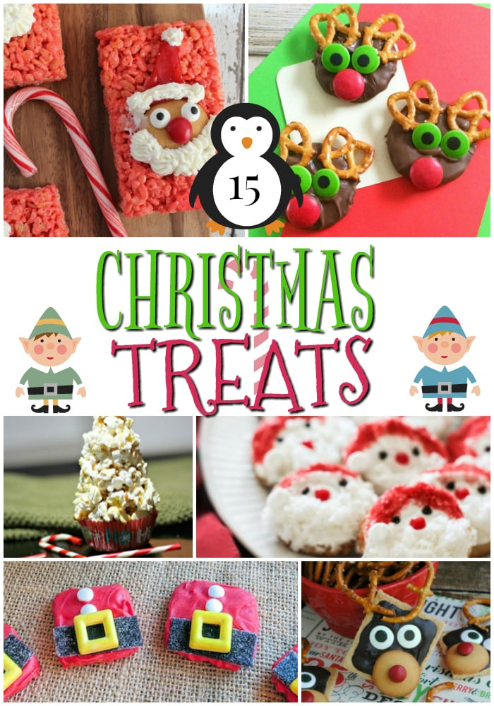 Make these adorable Christmas treats with your kids for a class party, celebration at home or when you need something to do during winter break. So many easy recipes!