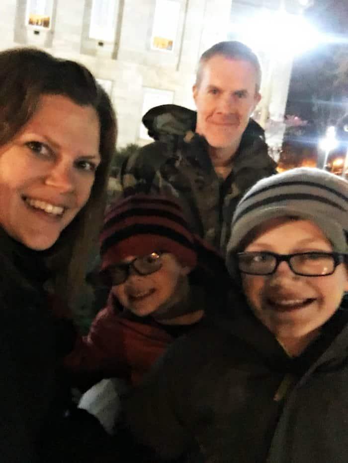 Updyke Christmas Family Selfie
