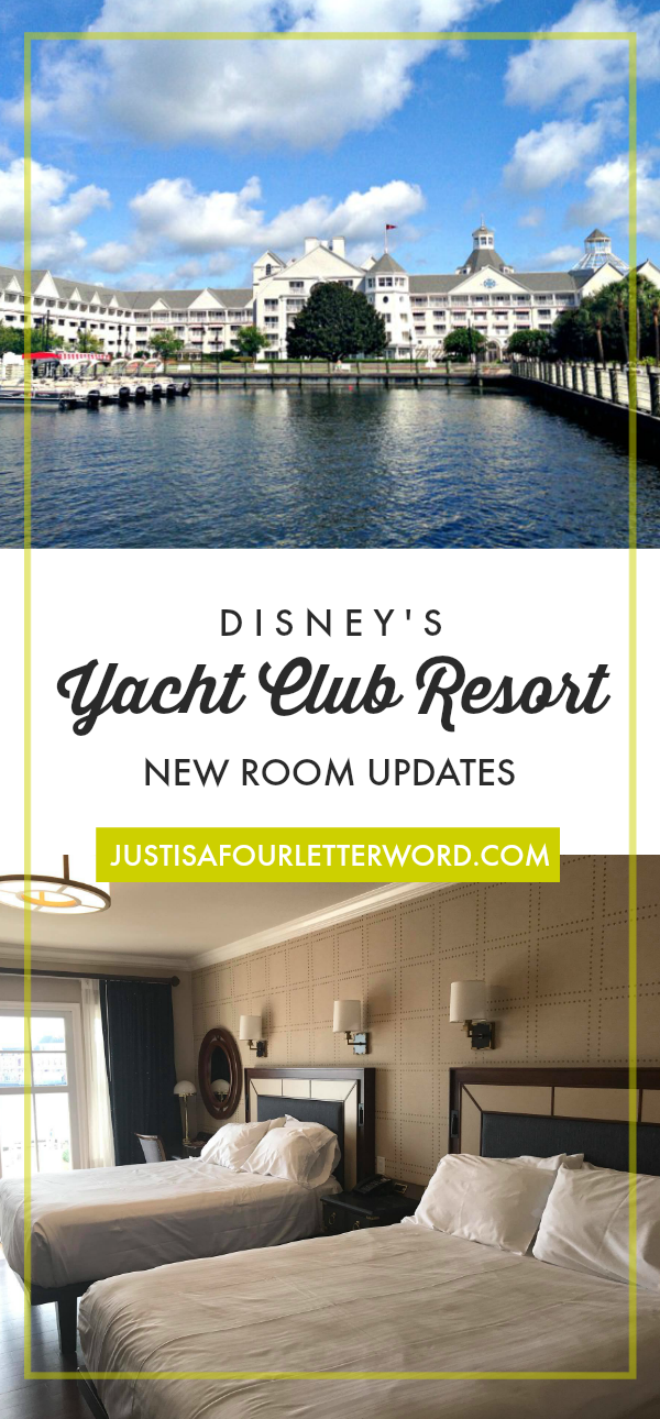 Get the pics of Disneys Yacht Club Resort New Room Updates for 2018! We love this resort for so many reasons. See why it's one of our faves!