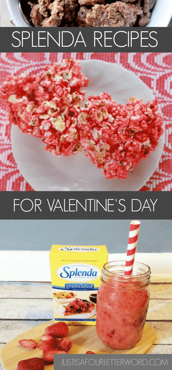 Make these Splenda Recipes for a low sugar Valentines Day and enjoy the holiday guilt-free!