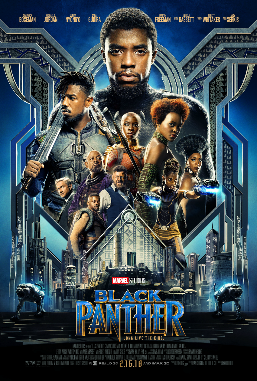 Black Panther Main Poster