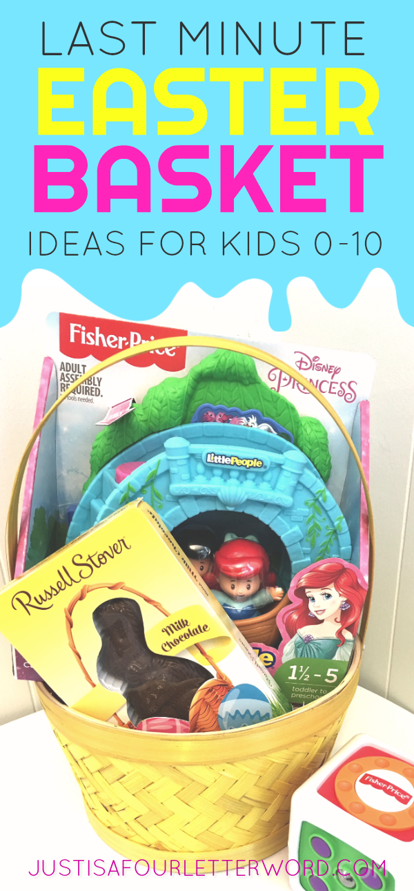 Last Minute Easter Basket Ideas for Kids age 0-10
