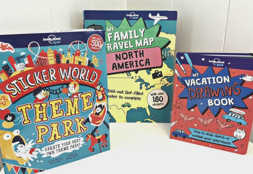 Lonely PLanet Books for Kids