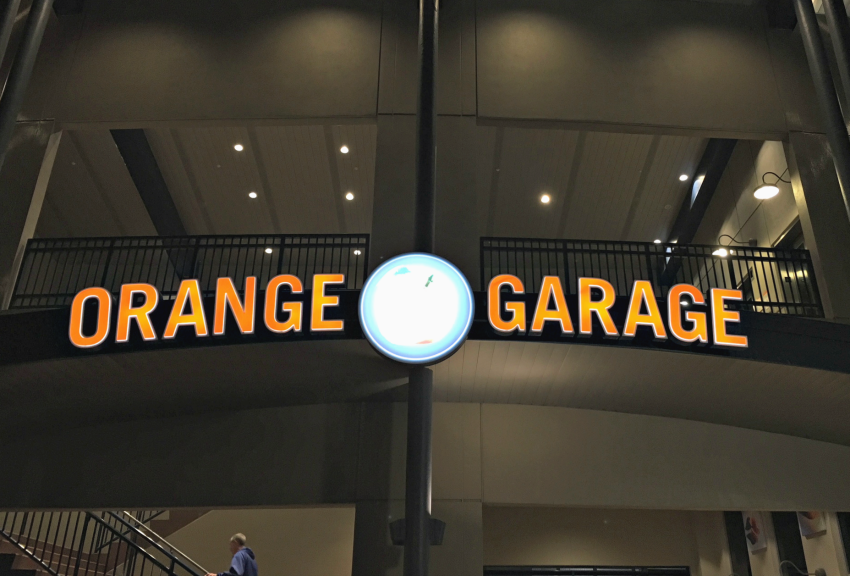 Parking at Disney Springs Orange Garage
