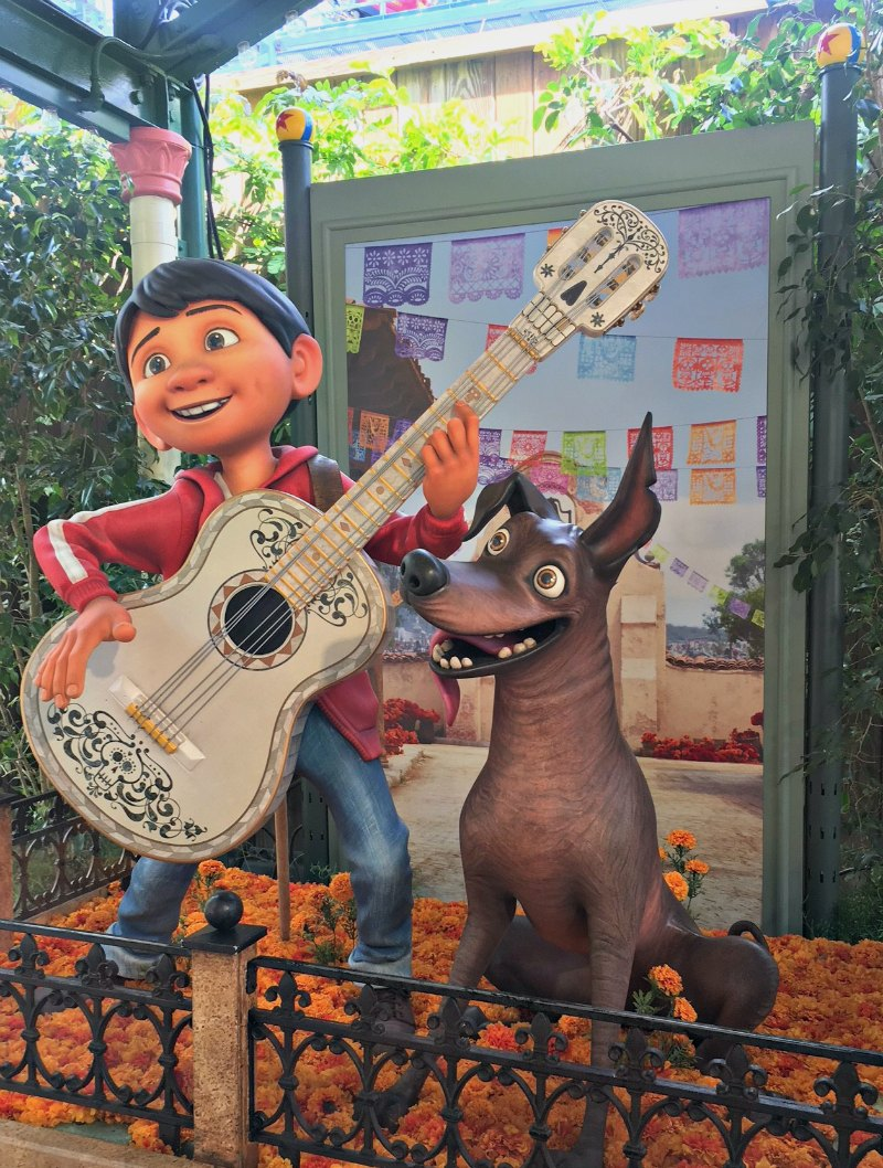 Coco Display California Adventure