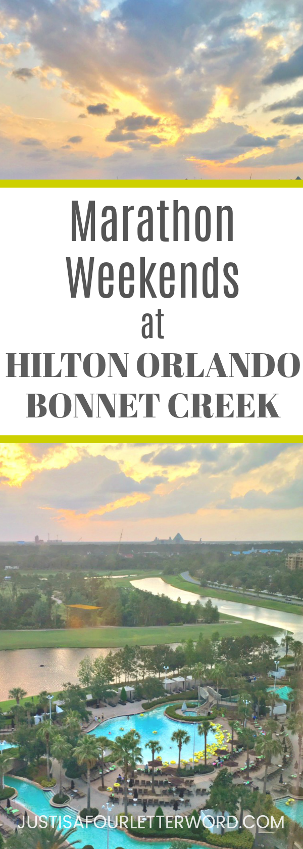 Hilton Orlando Bonnet Creek Marathon Weekends