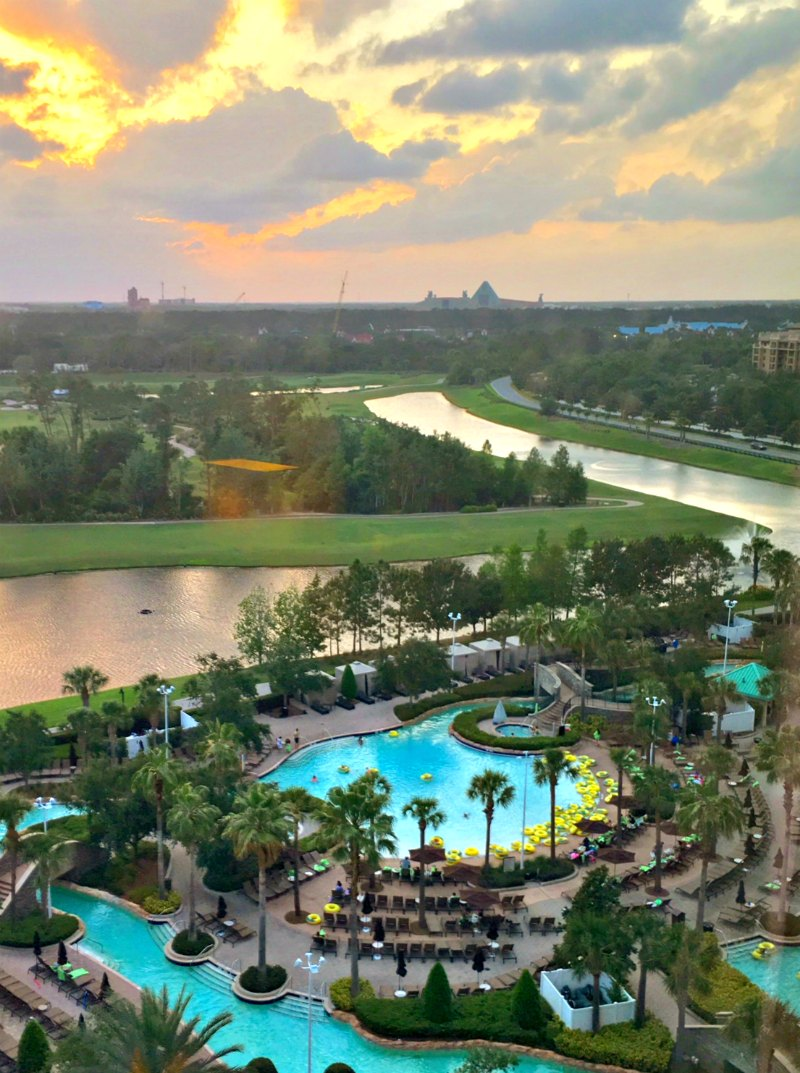 Hilton Orlando Bonnet Creek Pool View
