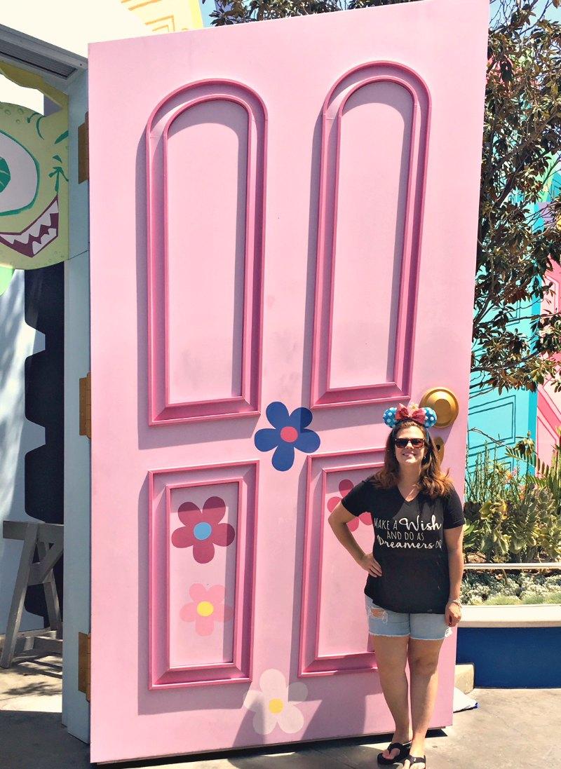 Monsters Inc. Door at Disney California Adventure