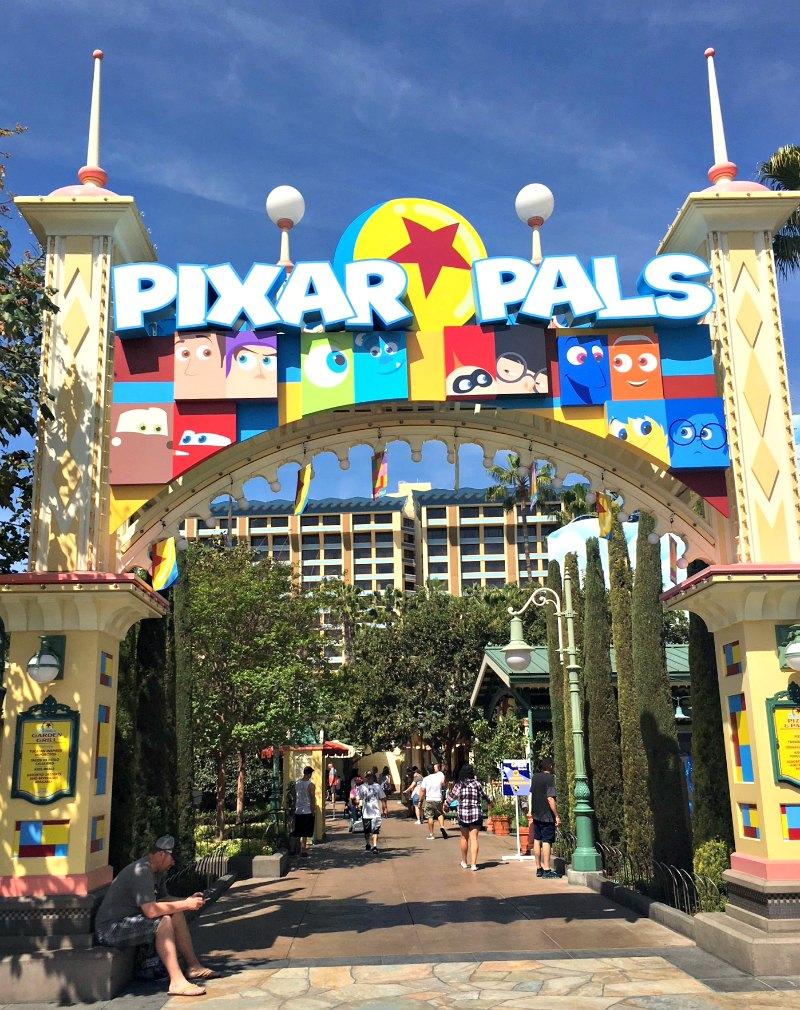 Pixar Pals Meet and Greet Area