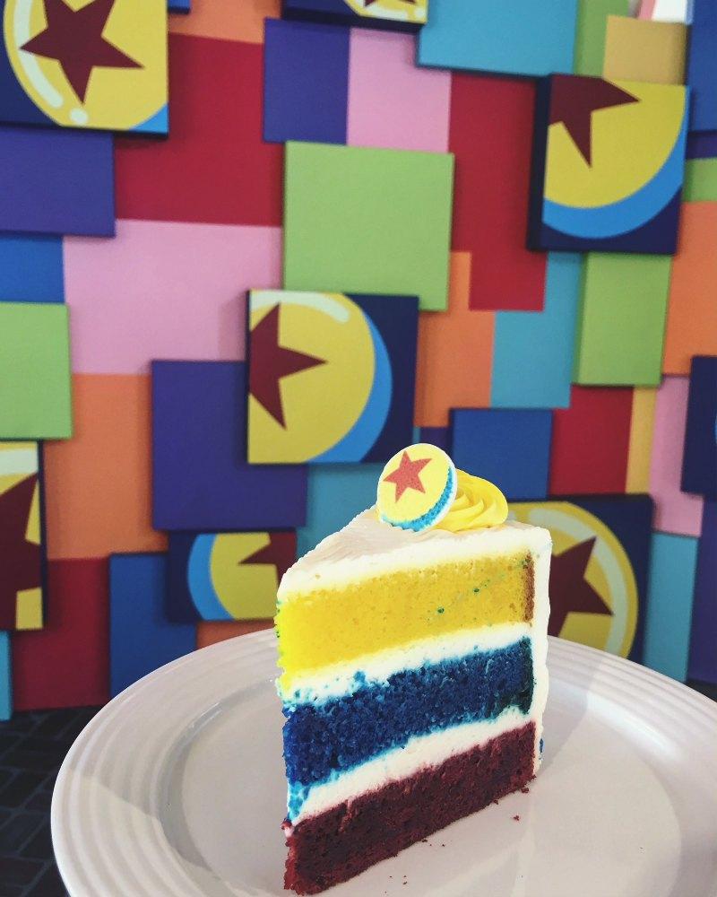 PixarFest Cake in Paradise Gardens