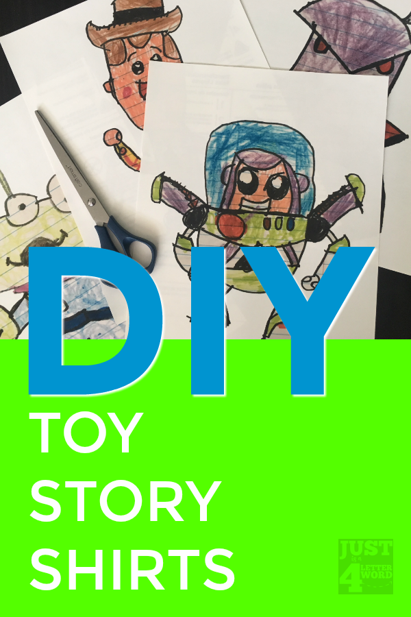 DIY Toy Story Shirts Tutorial