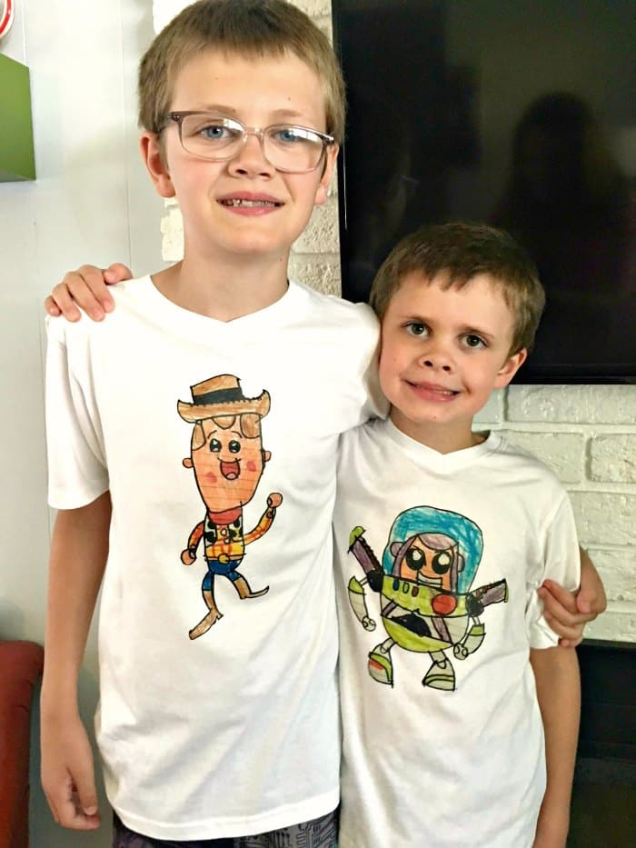 DIY Toy Story Shirts
