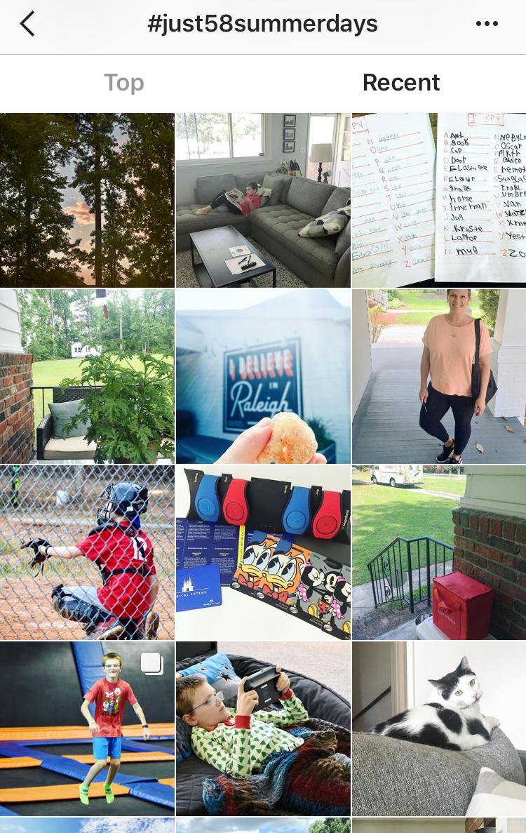 Just 58 Summer Days Instagram Andrea Updyke
