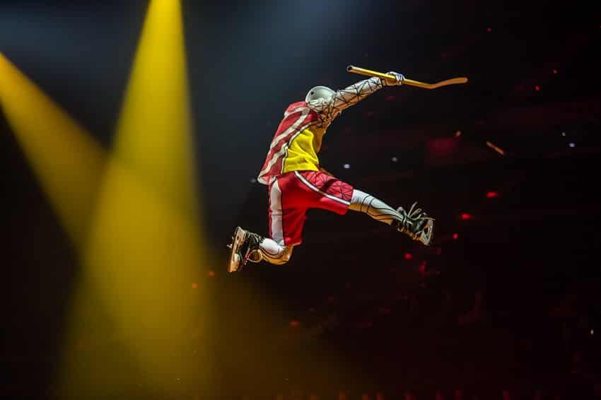 Cirque du Soleil Raleigh Crystal