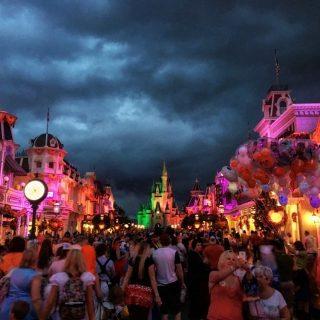 Halloween Cinderella Castle Walt Disney World