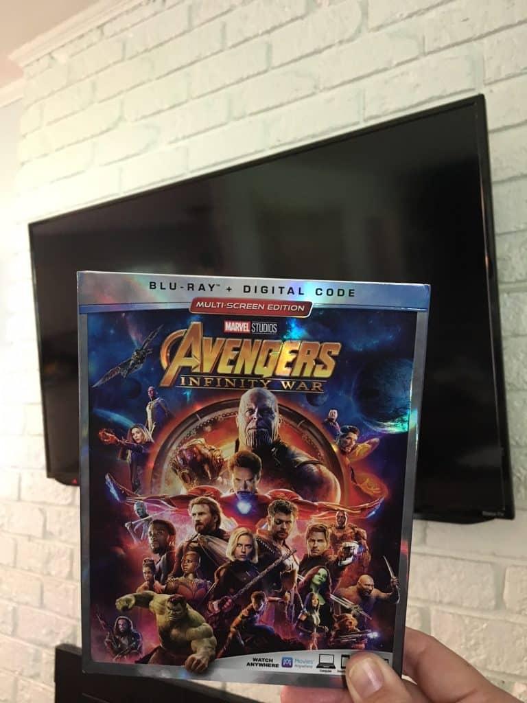 Avengers Infinity War Blu-ray release