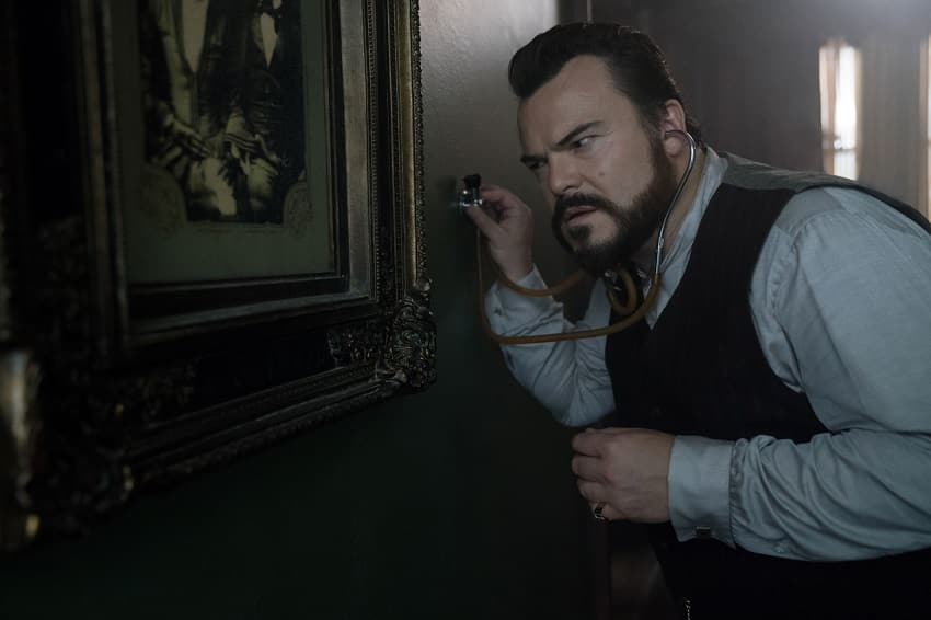 Jack Black House with a Clock movie