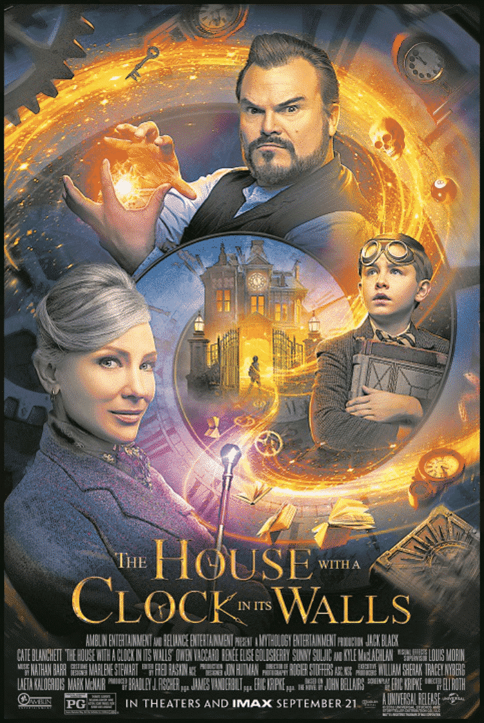 parents guide to the house with a clock in its walls movie