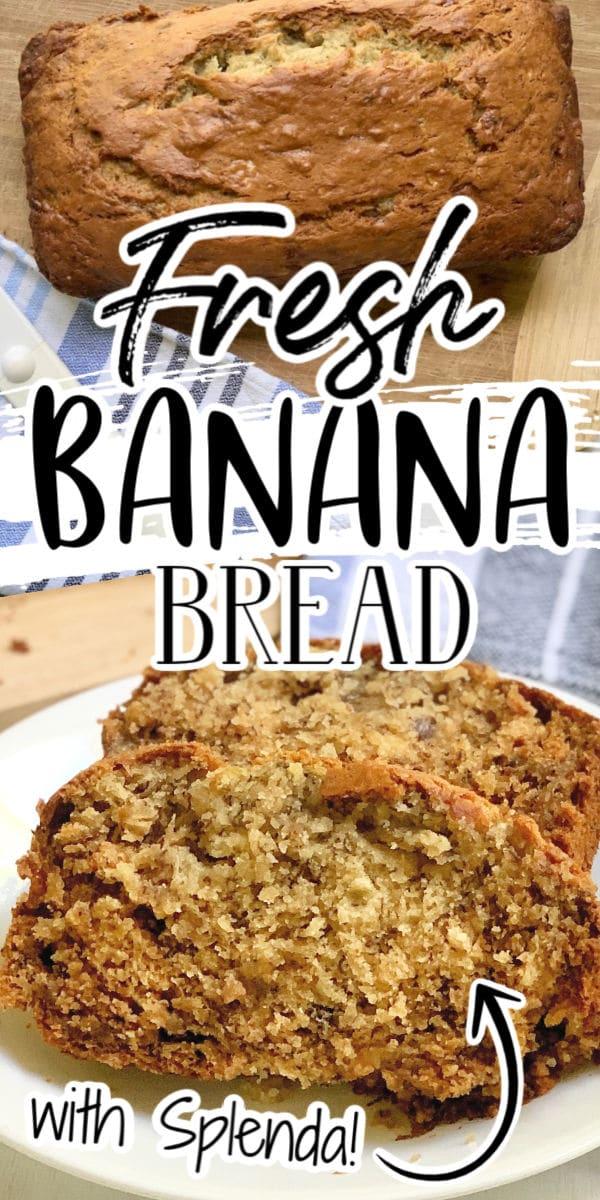 Banana Bread with Splenda (2)
