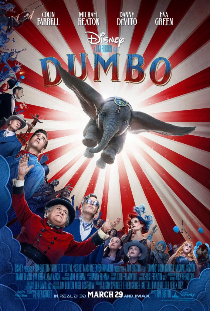 Dumbo movie official poster