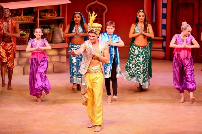 Aladdin and His Winter Wish Panto Dance