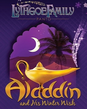 Aladdin and his winter wish poster
